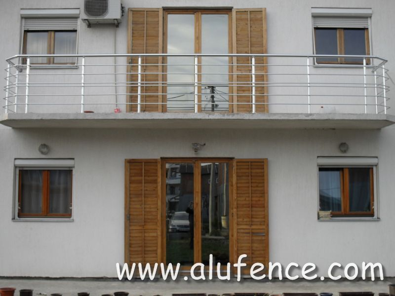 Alufence - Aluminijumske Ograde i Gelenderi 028