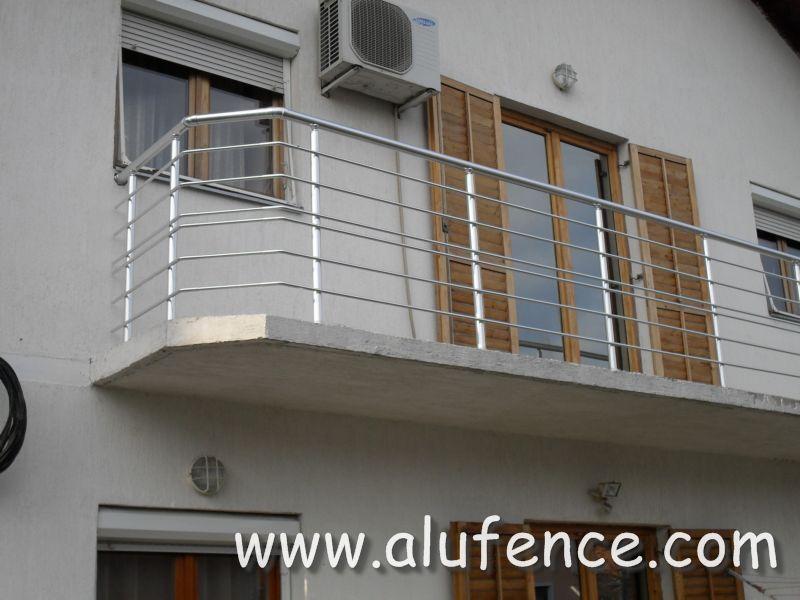 Alufence - Aluminijumske Ograde i Gelenderi 029