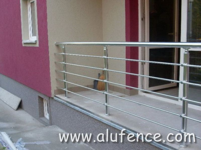Alufence - Aluminijumske Ograde i Gelenderi 075