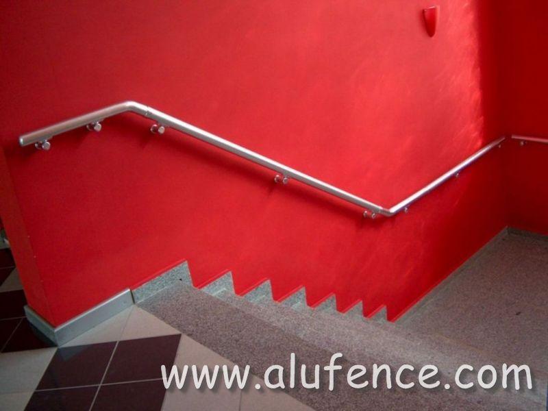 Aluminijumski rukohvati na stepeništu