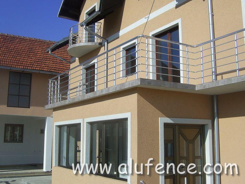 Alufence - Aluminijumske Ograde i Gelenderi 037